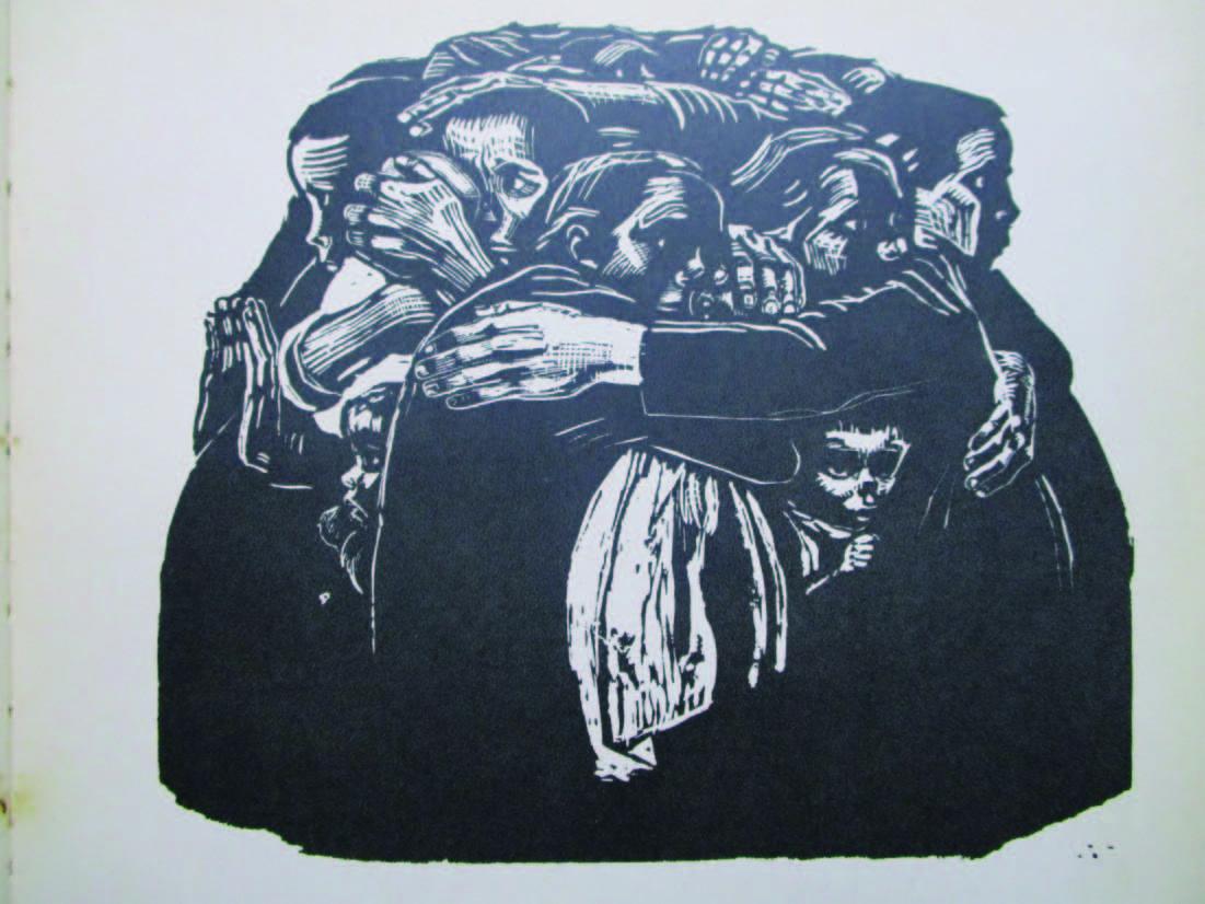 連作『戦争』第6葉 母たち 1922/23