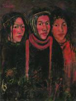 関根正二「三星」1919 年油彩・キャンバス 60.5×45.5 国立近代美術館