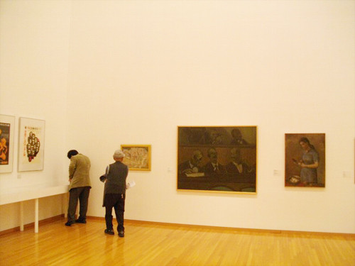 「MOTコレクション-クロニクル 1947-1963|アンデパンダンの時代」展 2010年 展示風景