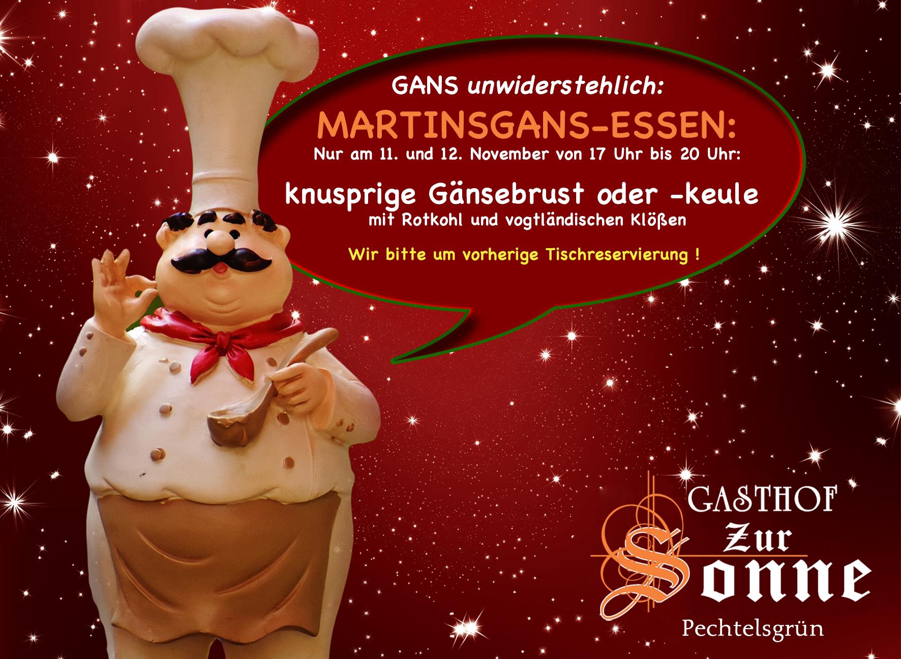 Martinsgans-Essen