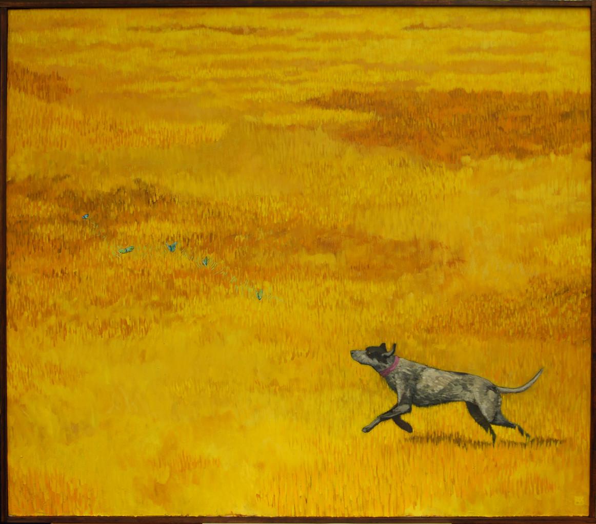 """Nostalgia"" Pintura al oli. 95x108 cm."