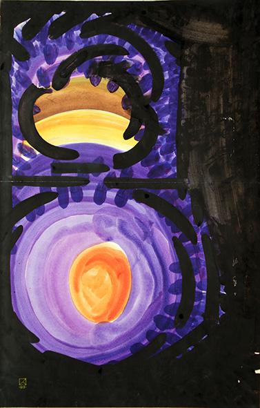 Colour Spot. 1993. Watercolor on paper. 70 х 45
