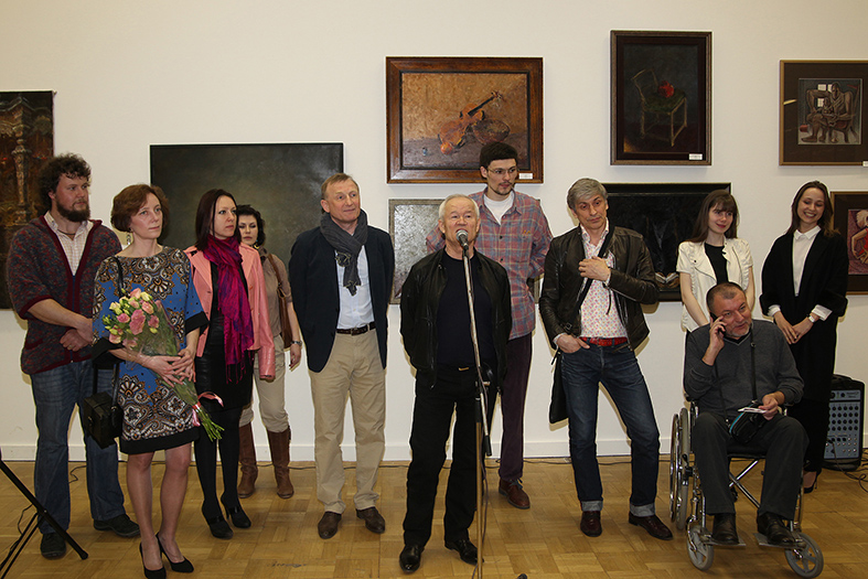Vernissage, Central House of Artists 30.04.2013