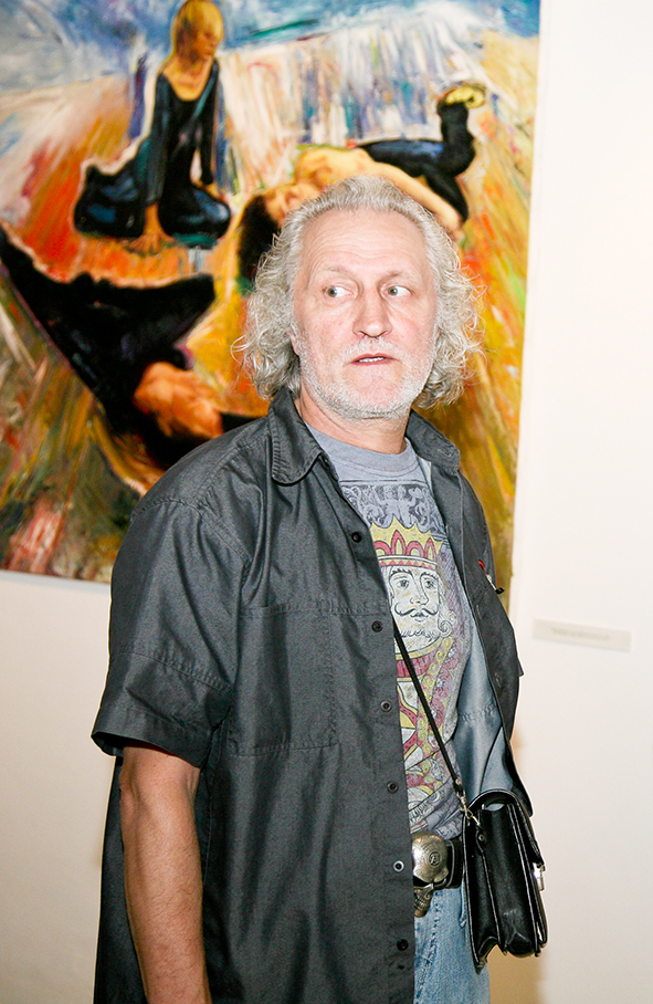 Opening of the Art Colony gallery on Red October. Vernissage 10.07.2010