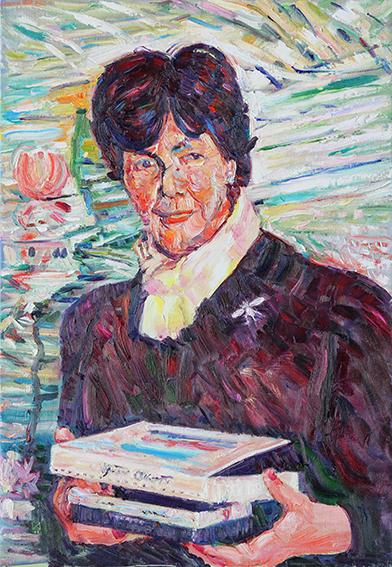 Nina Viktorovna. 2012. Oil on canvas. 92 х 64