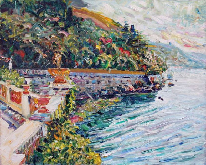 Miramare. Marine Park. 2011. Oil on canvas. 80 х 100