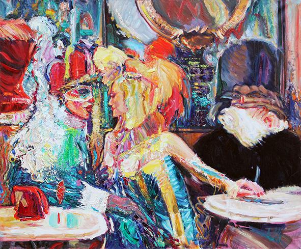The Florian Kiss. 2010. Oil on canvas. 100 х 120