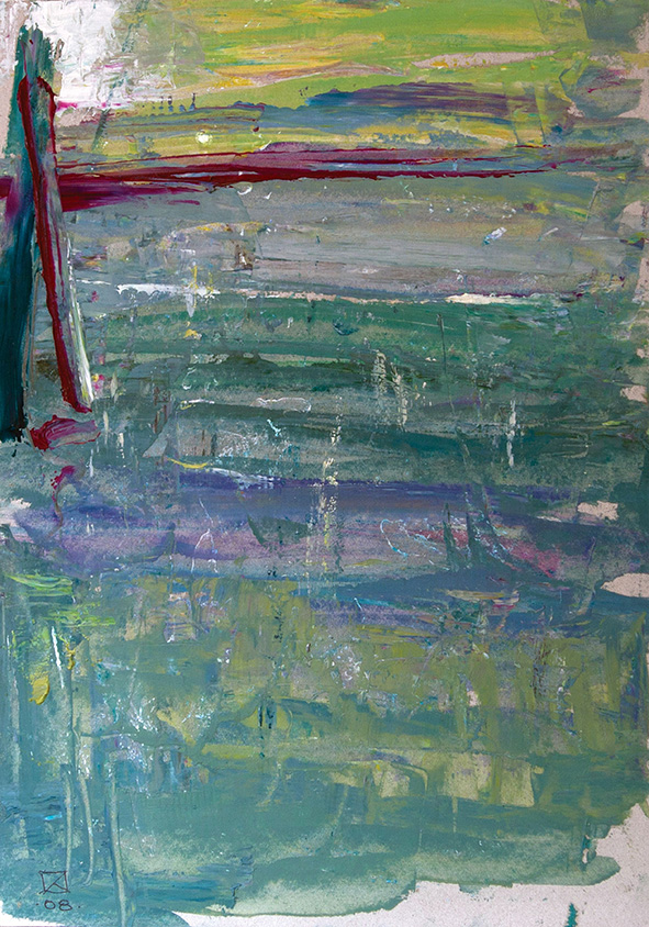 Delusion. 2007. Oil on cardboard. 29.5 х 21