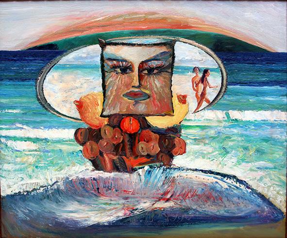 The Persian Gulf. Soon. 1995. Oil on canvas. 76.5 х 92