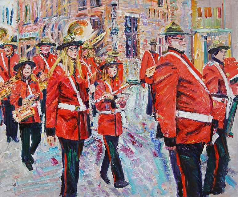 Bruges March. 2012. Oil on canvas. 100 х 120