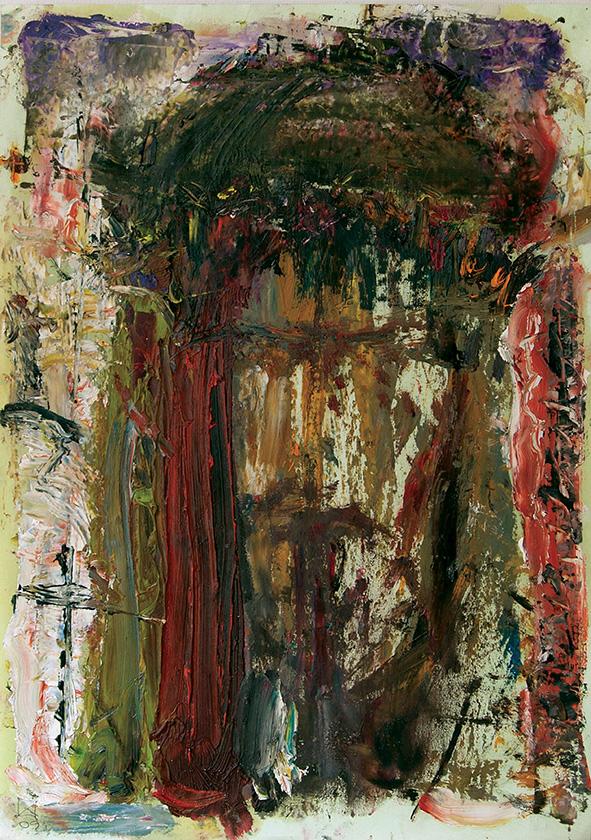 Christ (1). 2009. Oil on cardboard. 29.5 х 21