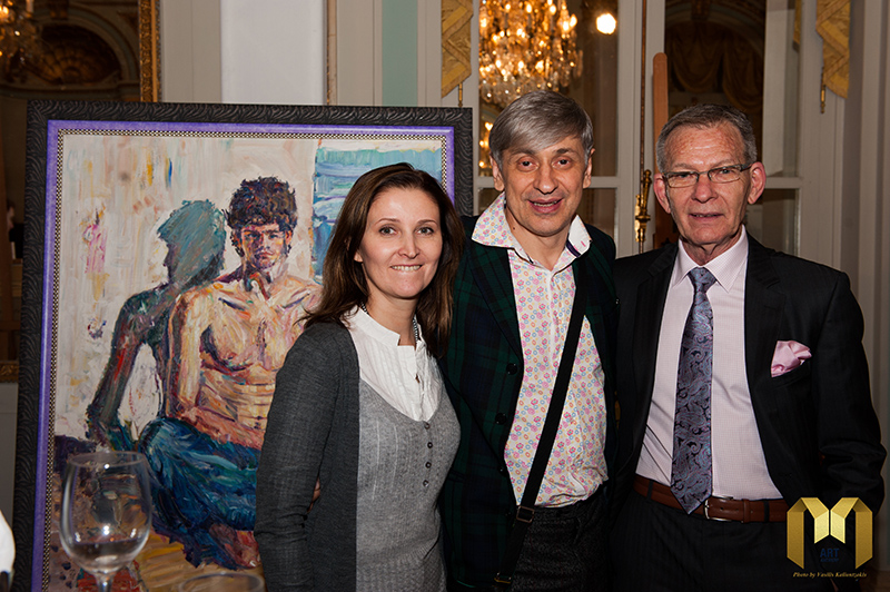 Vernissage of the International exhibition Diamonds for Life 08.02.2014