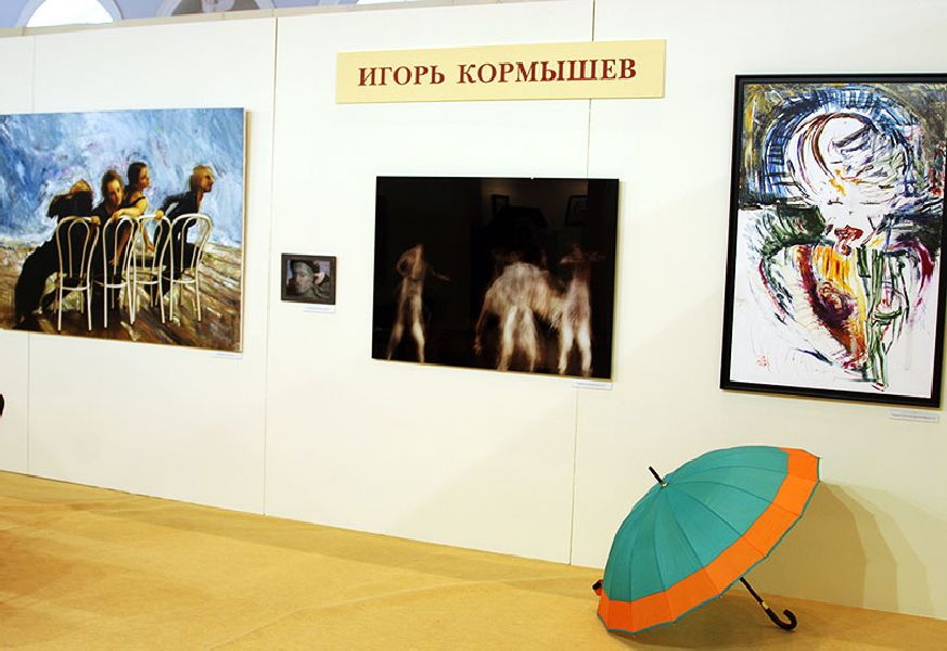 Vernissage of the Art Festival Traditions and Modernity 18.06.2009