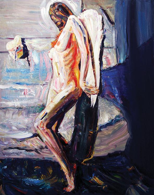 Venice. Sоluto. 2009. Oil on canvas. 100 х 80