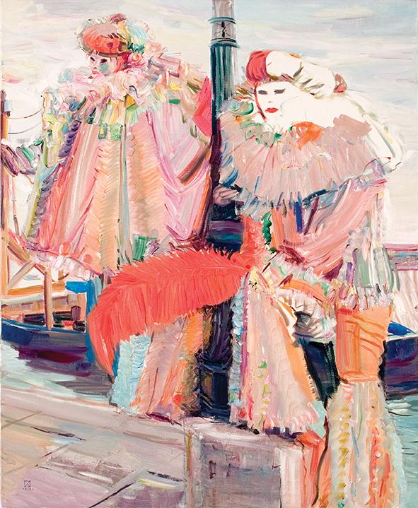 February. 2010. Oil on canvas. 100 х 80