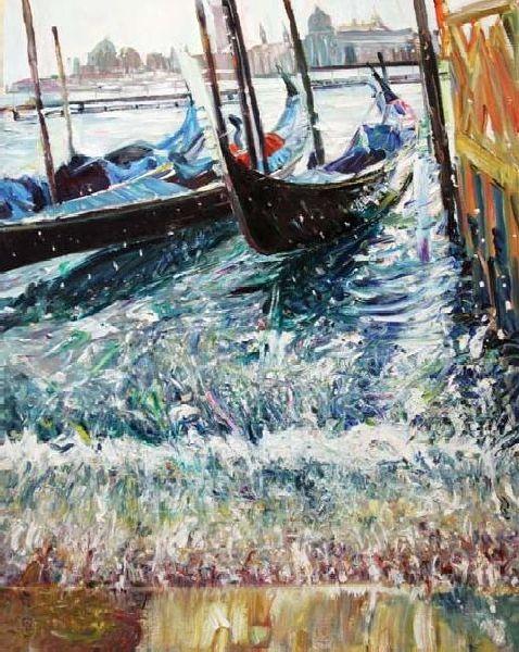 Arrangement. Venice. 2010. Oil on canvas. 100 х 80