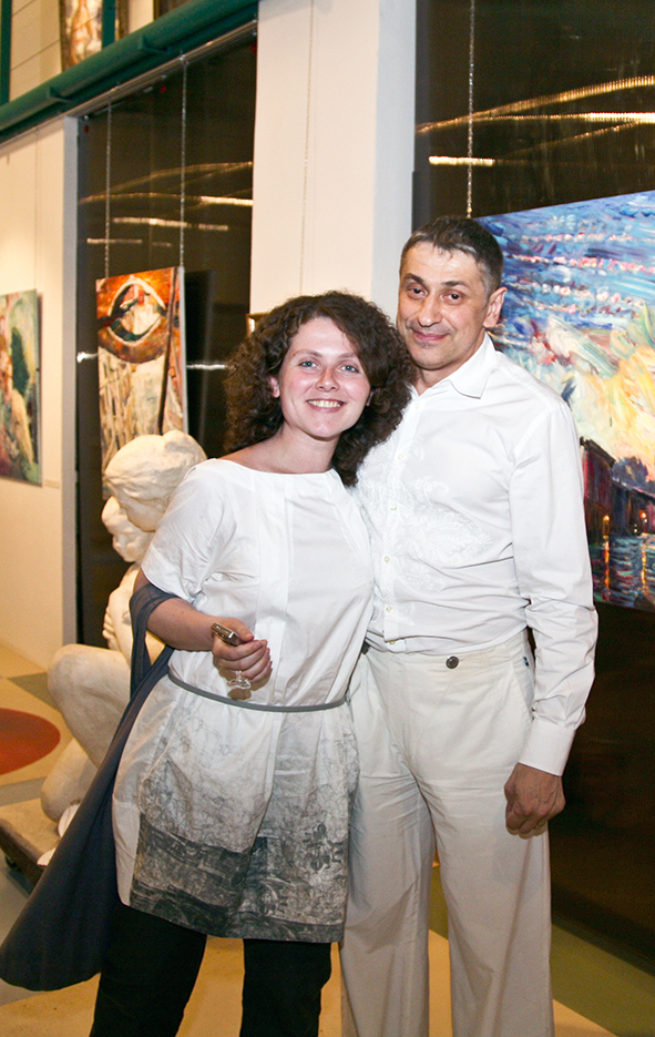 Opening of the Art Agency Colony gallery on Red October. Vernissage 10.07.2010