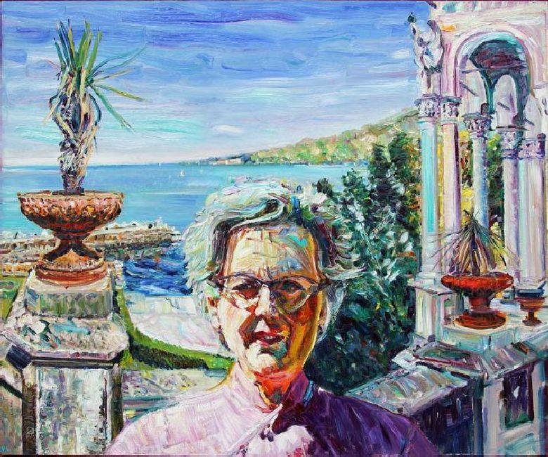 Miramare. Johanna. 2011. Oil on canvas. 100 x 120