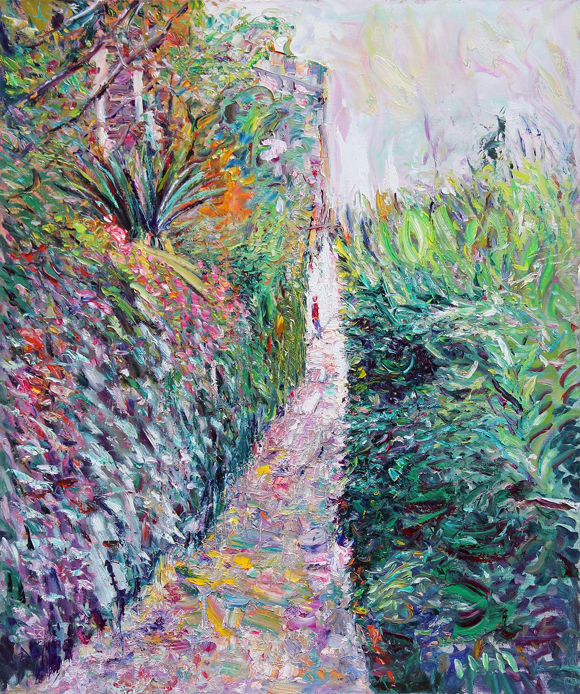 Enjoyment. 2012. Oil on canvas. 100 х 120