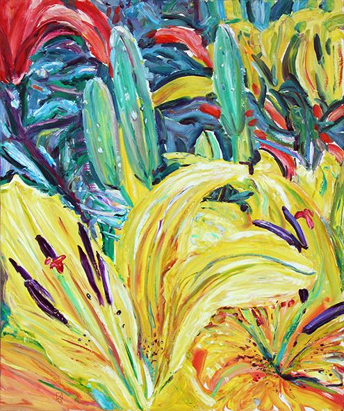 Fragment of Joy. 2012. Oil on canvas. 120 х 100