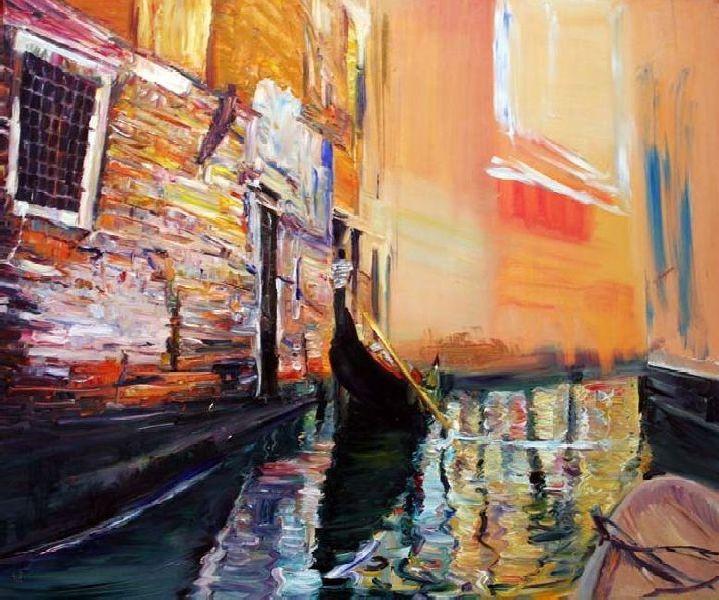 Mist. Venice. 2010. Oil on canvas. 100 х 120