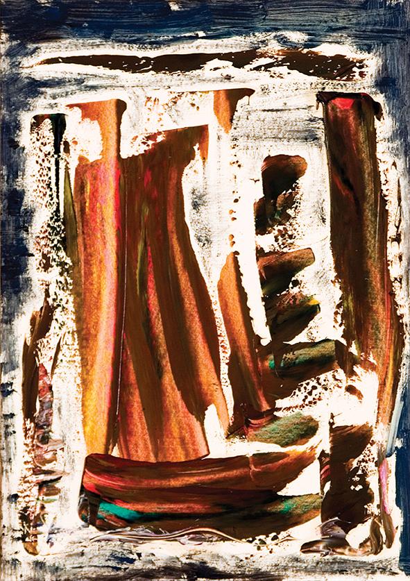 Venetian Novella. 2010. Oil on cardboard. 29.5 х 21