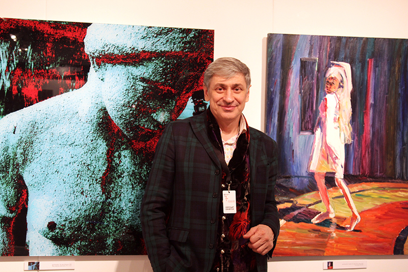 Vernissage of the International Art Fair Art Gent 30.11.2013