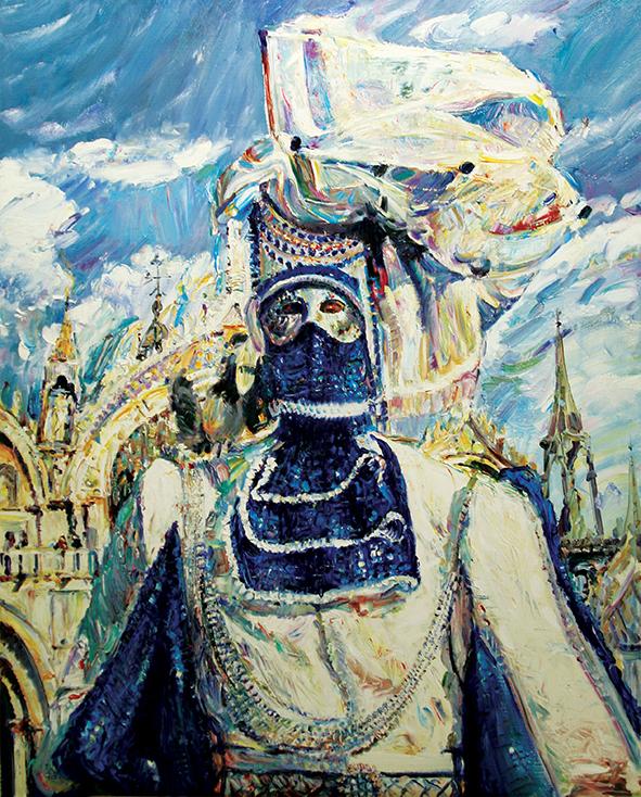 Town-Ship. 2010. Oil on canvas. 100 х 80