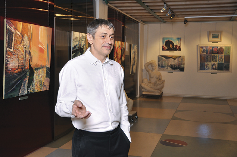 The new space of the Art Colony gallery