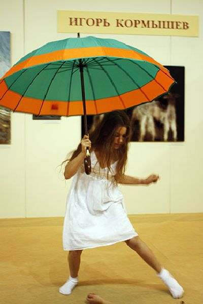 Dance with Dasha Kormysheva on the Opening day of the Art Festival Traditions and Modernity 18, 19, 20 June 2009