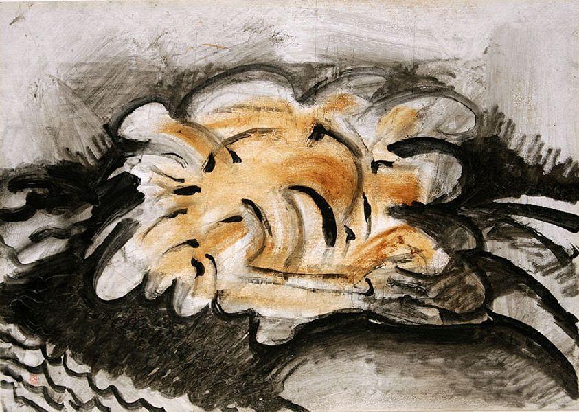Arch. Object. 1995. Oil on cardboard. 35 х 49