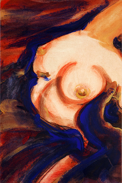 Torso. 1994. Mixed media on paper. 49.5 х 33