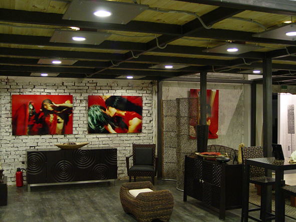 The project 'Salome. East - West'' in the Art Play Centre, Moscow, 2004