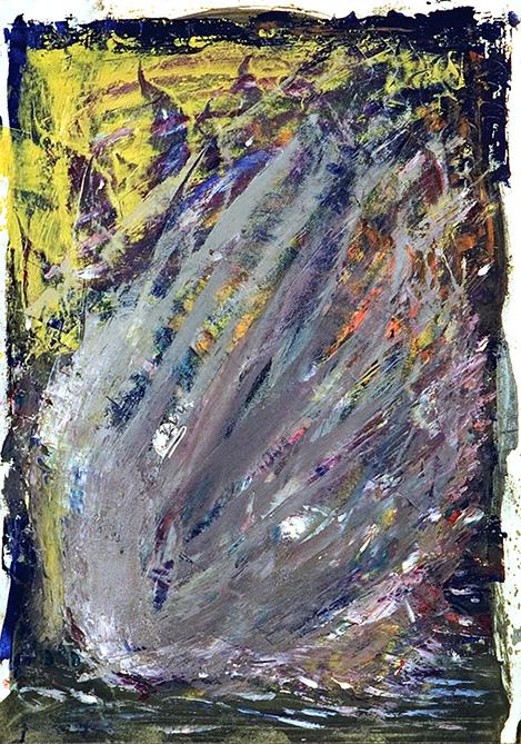 Venetian Breeze. 2010. Oil on cardboard. 29.5 х 20.5