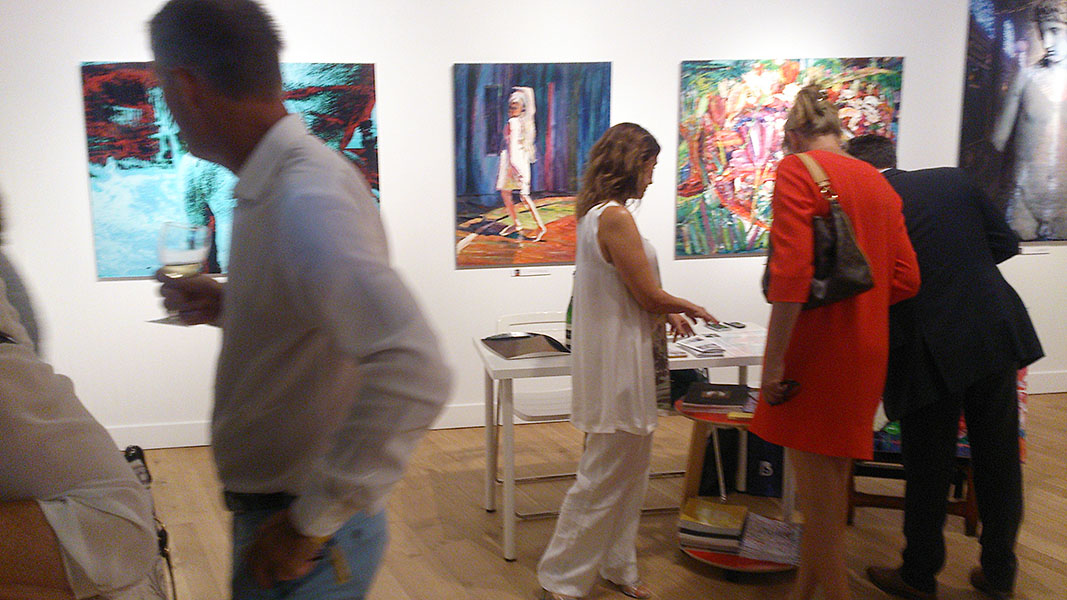 Art Nocturne Knocke vernissage 08.08.2016