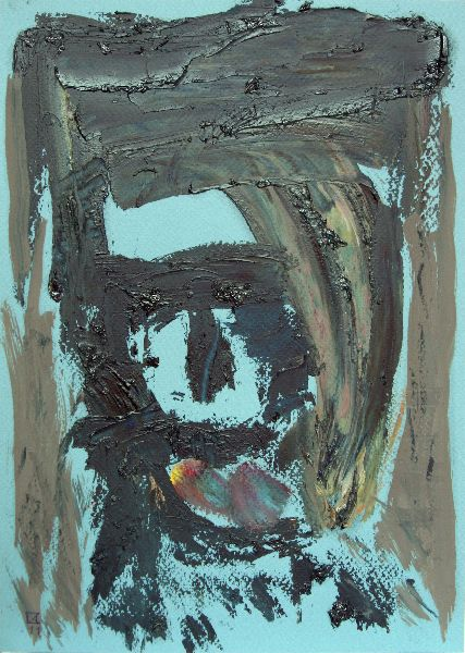 Advent. 2011. Oil on cardboard. 29.5 x 21