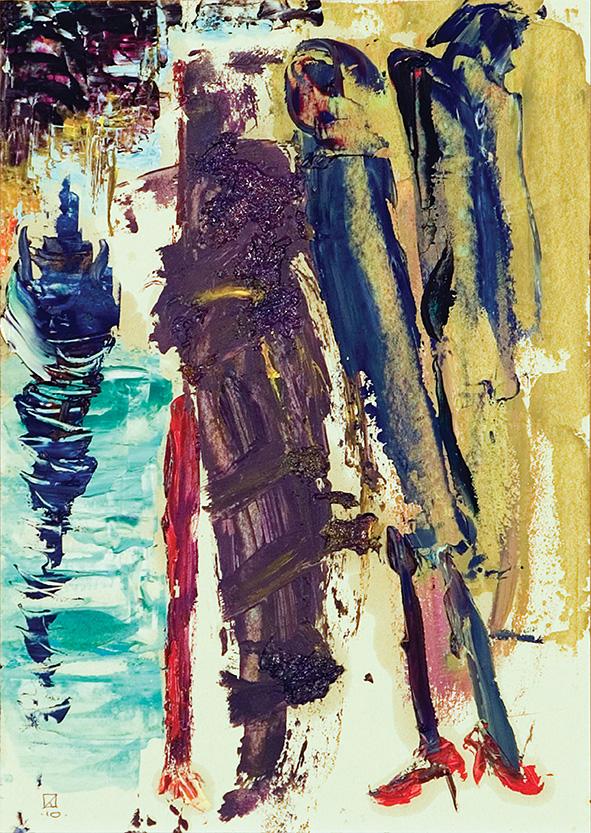 Christening. 2010. Oil on cardboard. 29.5 х 21