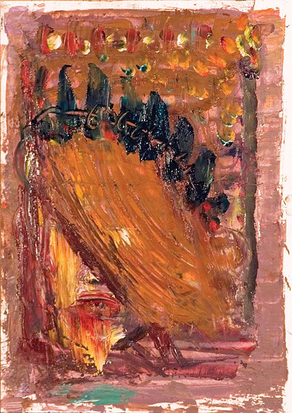 Fiery Faith. Venice. 2010. Oil on cardboard. 29.5 х 21