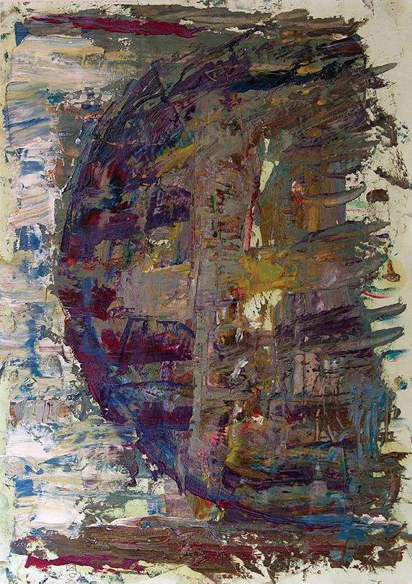 Wheel of Fortune. 2009. Oil on cardboard. 29.5 х 21