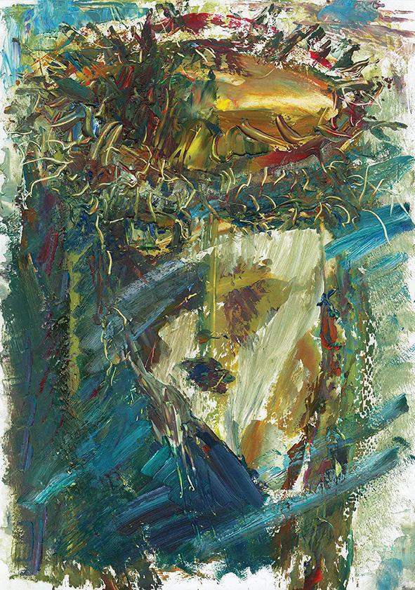 Decor. 2010. Oil on cardboard. 29.5 х 21