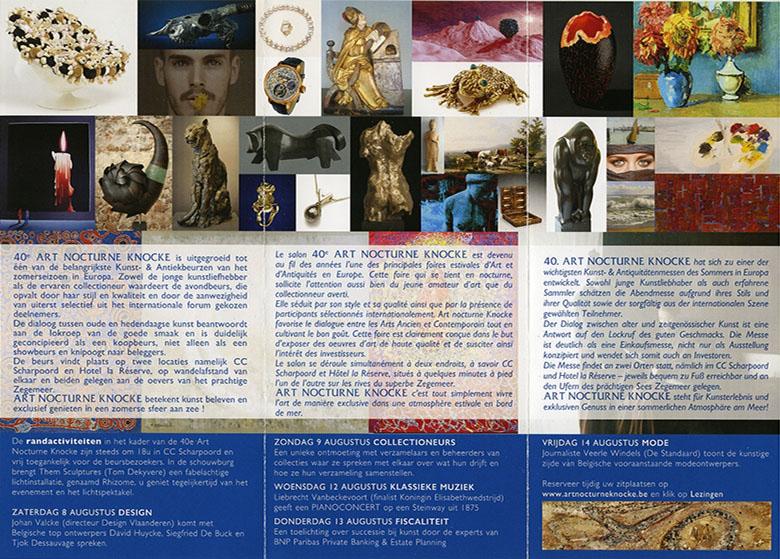 Art Nocturne Knocke 2016 booklet