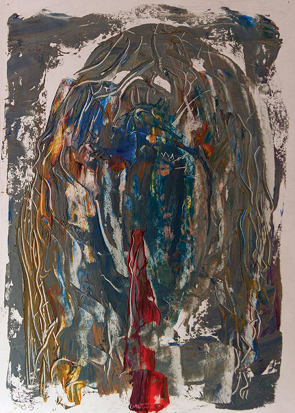 Venetian Portrait (14). 2009. Oil on cardboard. 29.5 х 21