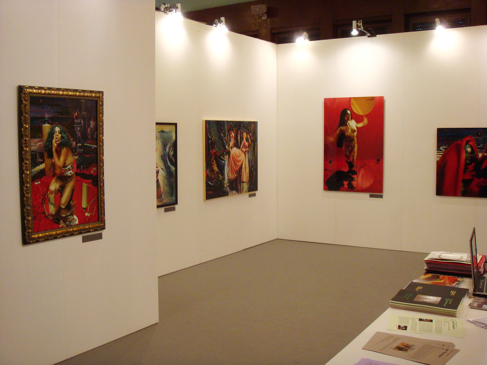 International Art Fair 'Arte Contemporanea Moderna Roma'. Rome, Italy, 2008