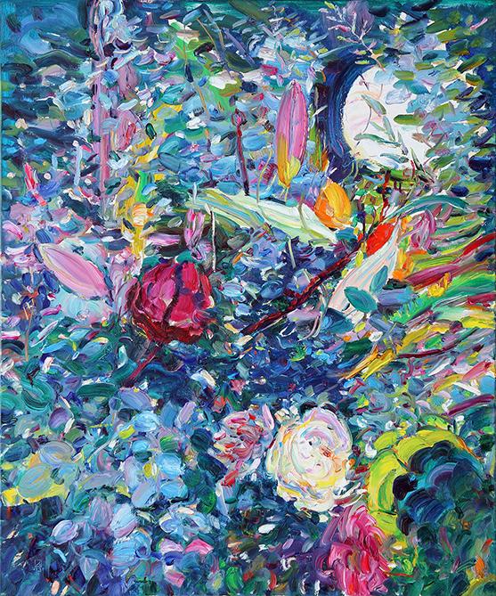 Moonlight Sonata. 2013. Oil on canvas. 120 х 100