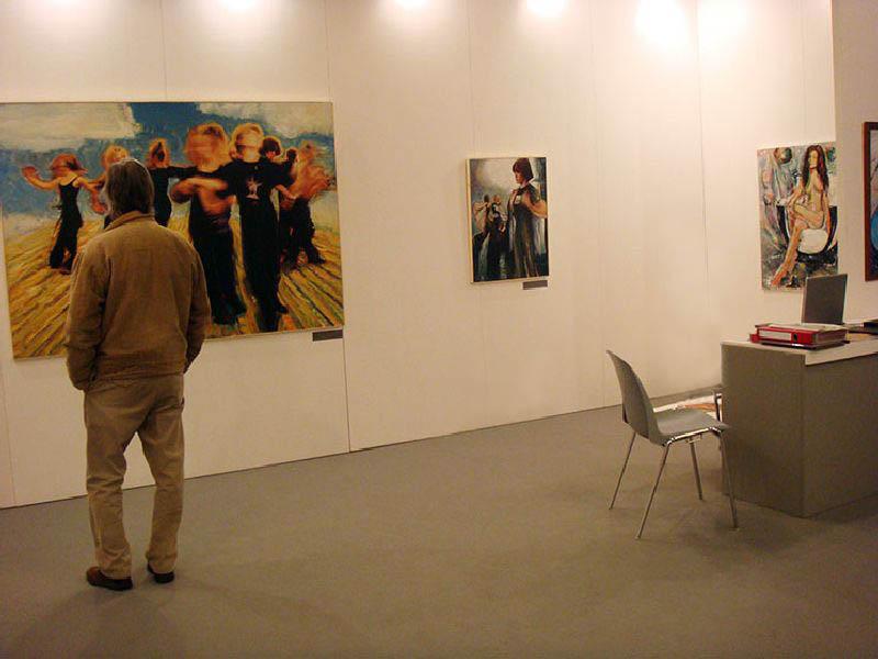 Arte Conteporanea Moderna Roma vernissage 29.02.2008