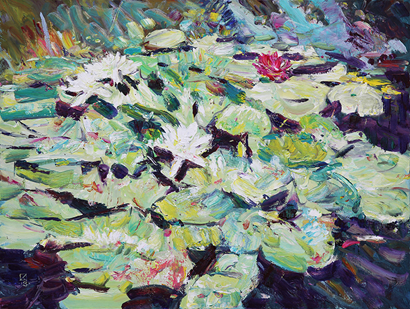 Water Lily. 2013. Oil on canvas. 60 х 80