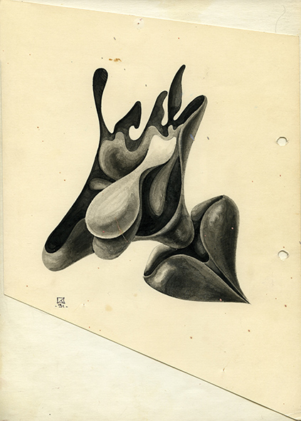 Untitled. 1991. Ink on paper. 30 х 21