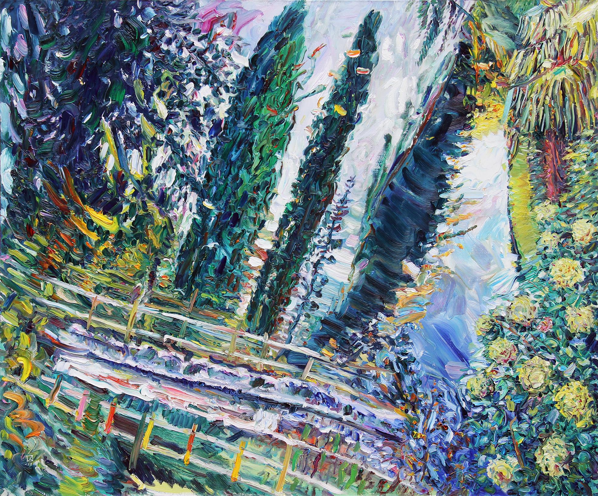 Elegy. 2011. Oil on canvas. 100 х 120