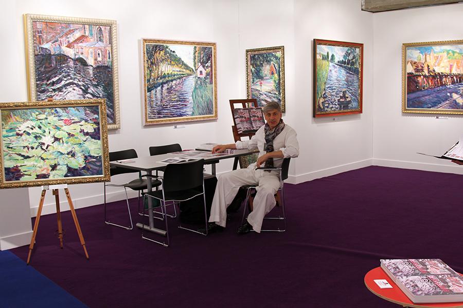 International Salon of Art and Antiques Art Nocturne Knocke, Belgium. 2013, 10-18.08.2013