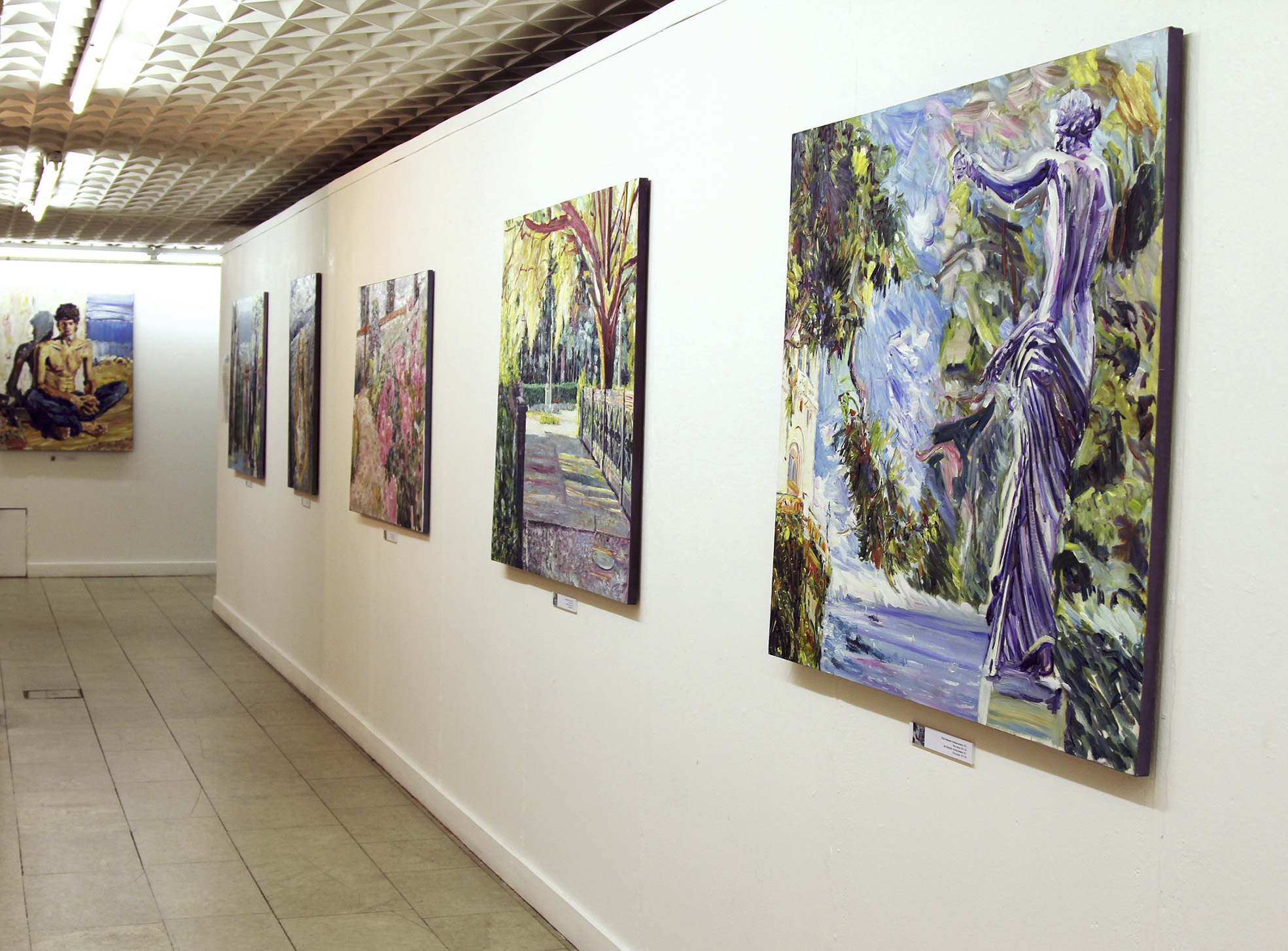 The exhibition 'Inviting Freshness'. The Central House of Artists, Moscow, 27.07 - 27.08.2012